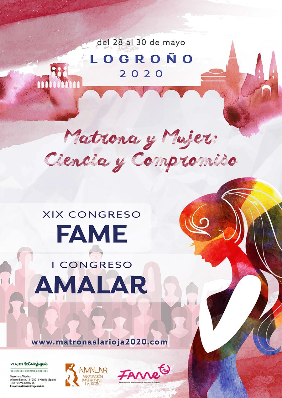 I Congreso nacional de AMALAR Y XIX de la FAME. 28 al 30 mayo 2020.
