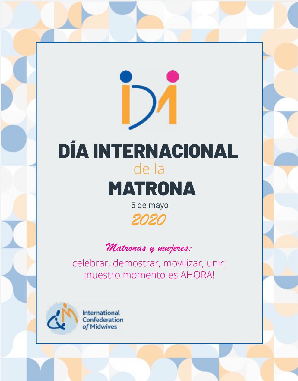 Día Internacional de la Matrona 5 de mayo 2020